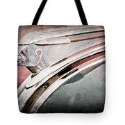1948 Pontiac Chief Hood Ornament Tote Bag