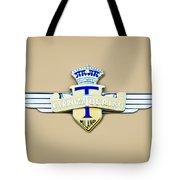 1954 Hudson Italia Touring Coupe Emblem Tote Bag