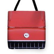 1957 Chevrolet Corvette Grille Tote Bag