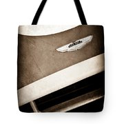 1993 Aston Martin Dbr2 Recreation Hood Emblem Tote Bag
