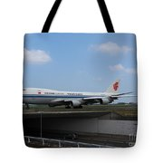 Air China Cargo Boeing 747 Tote Bag