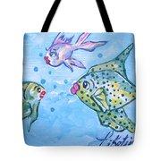 Art Fish Tote Bag