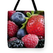 Assorted Fresh Berries Tote Bag