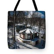 At The Ski Resort Tote Bag