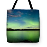 Aurora Borealis Northern Lights Display Tote Bag