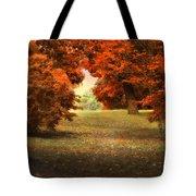 Autumn Ablaze Tote Bag