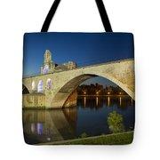 Avignon Bridge Tote Bag