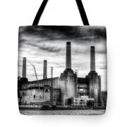 Battersea Power Station London Tote Bag