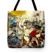 Battle Of Grunwald Tote Bag