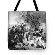 Battle Of Princeton, 1777 Tote Bag