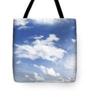 Big Blue Sky Tote Bag