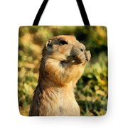 Black-tailed Prairie Dog Tote Bag