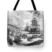 Boston: Evacuation, 1776 Tote Bag