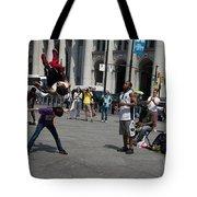 Breakdancers Tote Bag