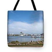 Cardiff Bay Panorama Tote Bag