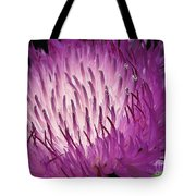 Centaurea From The Sweet Sultan Mix Tote Bag