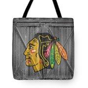 Chicago Blackhawks Tote Bag