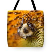 Chipmunk's Peredovik Sunflower Tote Bag
