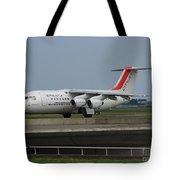 Cityjet British Aerospace Avro Rj85 Tote Bag
