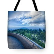 Clingmans Dome - Great Smoky Mountains National Park Tote Bag