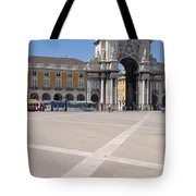 Commerce Square In Lisbon Tote Bag