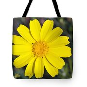 Crown Daisy Flower Tote Bag