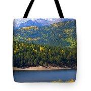 Crystal Lake On Pikes Peak Tote Bag