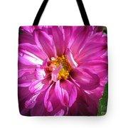 Dahlia Named Pink Bells Tote Bag