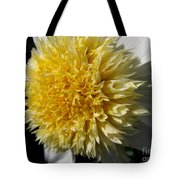 Dahlia Named Platinum Blonde Tote Bag