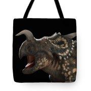 Dinosaur Einiosaurus Tote Bag