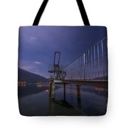 Diving Board Tote Bag