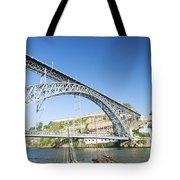 Dom Luis Bridge Porto Portugal Tote Bag