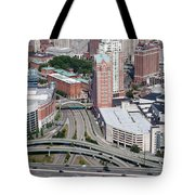 Downtown Providence Rhode Island Tote Bag