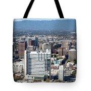 Downtown San Jose California Tote Bag