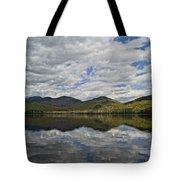 Elk Lake  Tote Bag