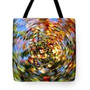Fall Abstract Tote Bag