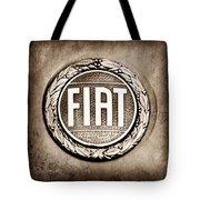 Fiat Emblem Tote Bag