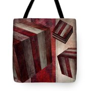 5 Fire Cubed Tote Bag