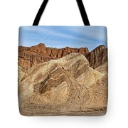 Golden Canyon Death Valley National Park Tote Bag