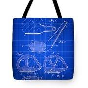 Golf Club Patent 1926 - Blue Tote Bag