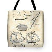 Golf Club Patent 1926 - Vintage Tote Bag