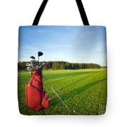 Golf Gear Tote Bag by Michal Bednarek