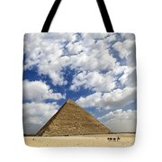 Great Pyramid Of Egypt Tote Bag