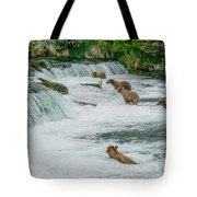 5 Grizzlies Tote Bag