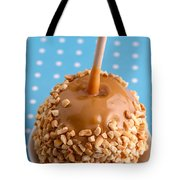 Hand Dipped Caramel Apples Tote Bag