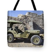 Jeep Willys Tote Bag
