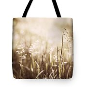 June Grass Flowering Tote Bag