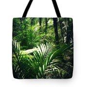 Jungle Leaves Tote Bag