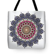 Kaleidoscope Colorful Jeweled Rhinestones Tote Bag