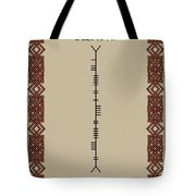 Kenny Written In Ogham Tote Bag